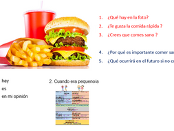 La comida (updated with PowerPoint)