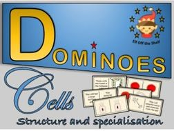 Plant and Animal Cells - Structure and Specialisation - Dominoes KS3