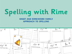 Spelling With Rime