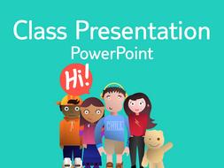 Introduction - Class presentation
