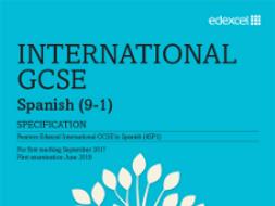 IGCSE/GCSE Spanish - Last minute revision resources