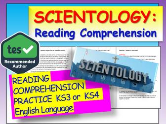 Scientology Reading Comprehension