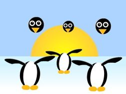 Flash CS6 Animation Essentials Lesson 6 - Dancing Penguin, layers and tweens