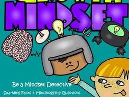 Growth Mindset - Be a Mindset Detective & Banner