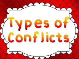 Conflict Types Flash Card Review