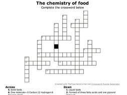 GCSE biology crosswords NEW spec. Chapter 3 Organisation