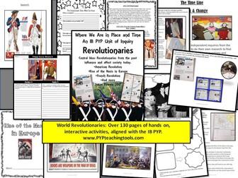 A Complete Unit of Inquiry World Revolutions & Revolutionaries IB PYP