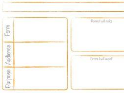 Transactional Writing - Planner
