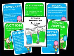 Developing IB PYP Student-Led Action Posters