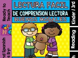 Easy Reading for Reading Comprehension in Spanish/special edition/Good Manners
