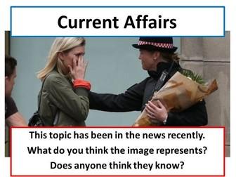 London Bridge Terror Attack - Current Affairs Form Time Activity