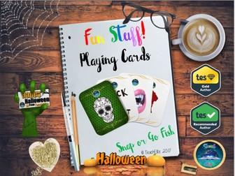Halloween : Halloween Playing Cards