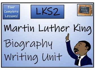 LKS2 History - Martin Luther King Biography Writing Activity