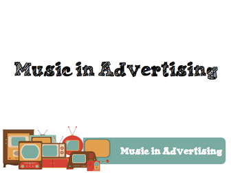 Music in Advertising