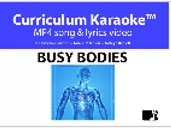 'BUSY BODIES' ~ MP4 Curriculum Karaoke™