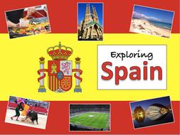 Geography of Spain - KS2