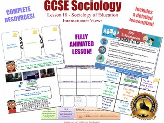 Interactionist Views - Education - L18/20 [ WJEC EDUQAS GCSE Sociology]