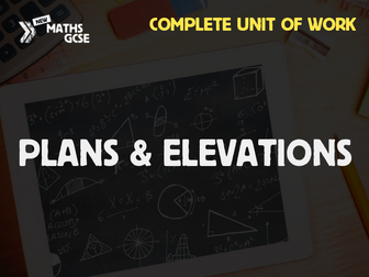 Plans & Elevations - Complete Unit of Work