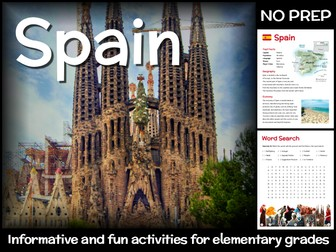 Spain (country study for elementary grades)