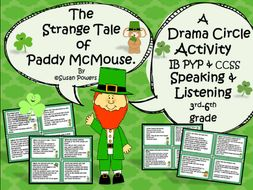 St.Patrick's Day Drama Circle Speaking & Listening Activity