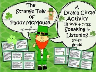 St.Patrick's Day Drama Circle Speaking & Listening Activity