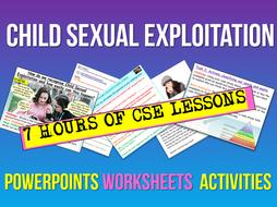 Child Sexual Exploitation - CSE