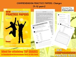 Practise SATS Tests (Changes) 9-12 years