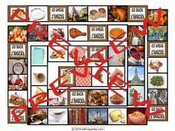 Thanksgiving Board Game
