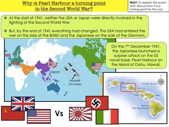 Pearl Harbour Why is Pearl Harbour a turning point in the Second World War