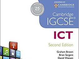 Cambridge IGCSE ICT 0417 Chapter 4 Networks - Worksheets / Exam Questions