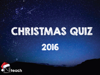 Christmas Quiz 2016 - General Quiz for all classes