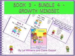 Book 3 - Bundle 4 - Growth Mindset – The Lambs Learn Their Lesson, Bloom's Resource Pack, Bumper Book 3 Resource Pack (including Comprehension Questions) & Poster by The World Of Whyse.