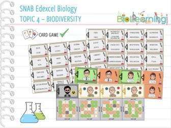 SNAB Biology Topic 4 - Keyword Game
