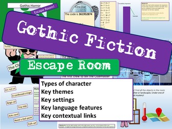 Gothic Escape Room