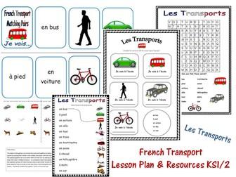 French Transport Lesson KS1/2