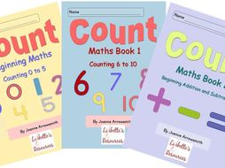 Early Number Worksheets for Reception/YR 1/ Special Needs