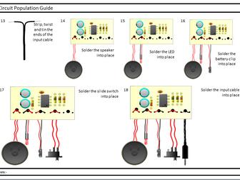 Design Technology Electronics KS3 Electronics Projects