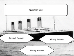 Titanic Quiz PowerPoint [Template]