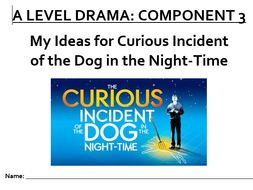 A Level Drama Curious Incident of the Dog in the Night-time Directorial Booklet