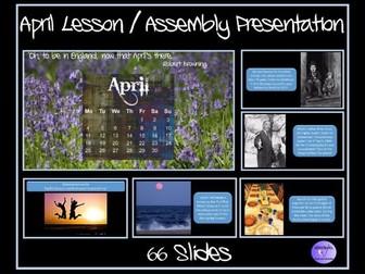 April Presentation