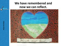 Remembrance day - A time to remember and reflect.