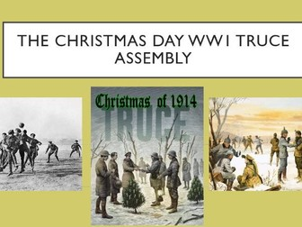 The Christmas Day WW1 Truce Assembly