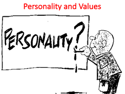 Personality and Values Lecture (Organizational Behavior