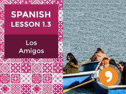 Spanish Lesson 1.3: Los Amigos - Friends