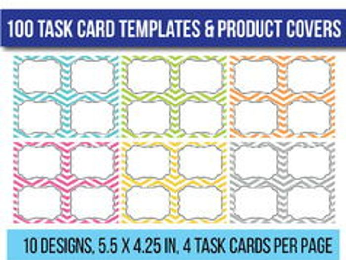 template for flash cards