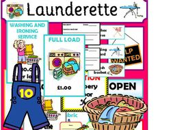 LAUNDERETTE Role play teaching resources