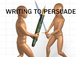 Persuasive Writing Resource Pack