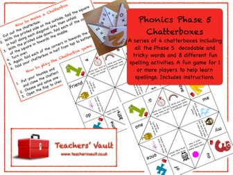 Phonics Phase 5 Chatterboxes