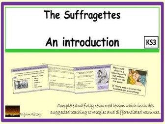 An introduction to the Suffragettes