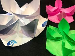 Make A Lotus Flower From Paper Using Origami By Lordknight